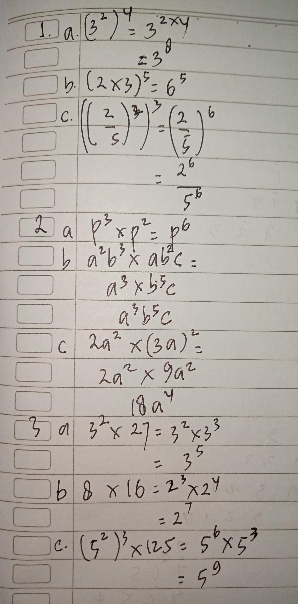 Tuliskan Dalam Bentuk Pangkat Paling Sederhana : tuliskan, dalam, bentuk, pangkat, paling, sederhana, Sederhana, Kanlah, Bentuk, Pangkat, Berikut, (3²)⁴, 3)pangkat5, 2/5)²)³, Brainly.co.id