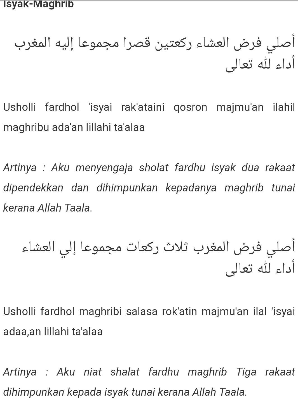 Jamak Maghrib Isya : jamak, maghrib, Sholat, Jamak, Takhir, Maghrib, Waktu, Sedang