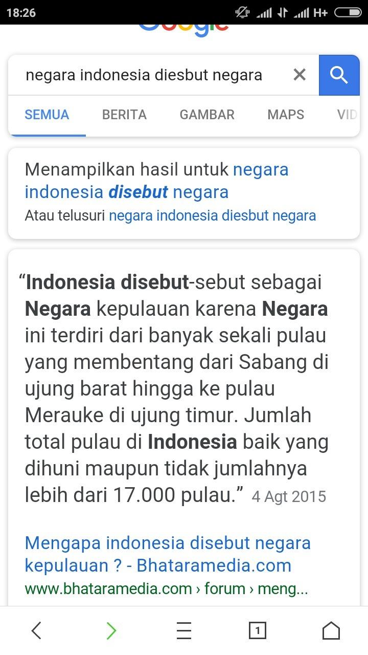 Mengapa Indonesia Disebut Negara Maritim : mengapa, indonesia, disebut, negara, maritim, Indonesia, Disebut, Negara, Kepulauan, Karena