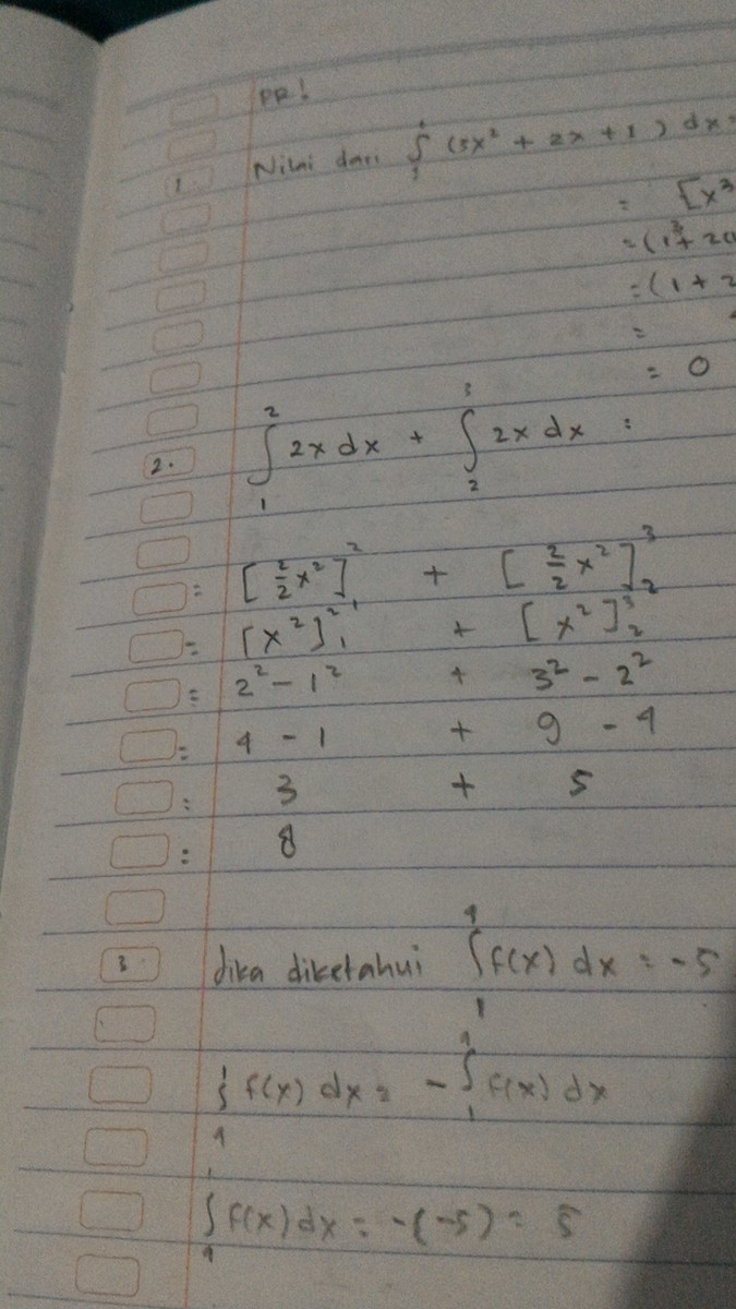 Contoh Soal Integral Tentu : contoh, integral, tentu, Contoh, Integral, Tentu, Beserta, Penyelesaianya, <br, />, Answer, Brainly.co.id