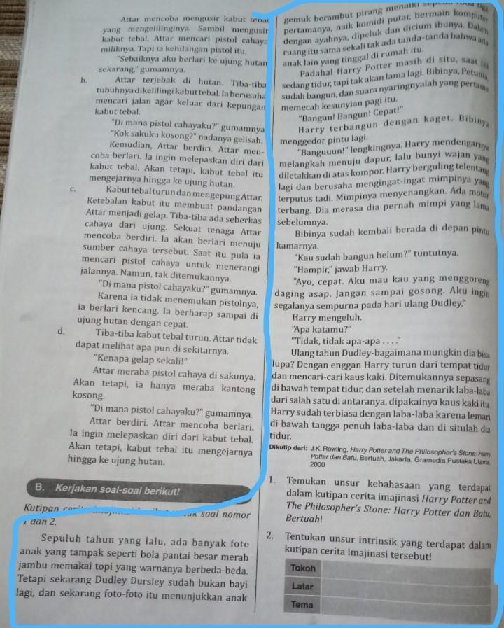 Kutipan Novel Harry Potter : kutipan, novel, harry, potter, Temukan, Unsur, Kebahasaan, Terdapat, Dalam, Kutipan, Imajinasi, Harry, Potter, Brainly.co.id
