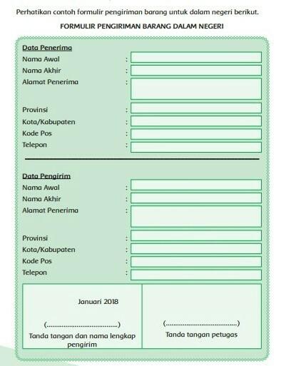Formulir Pengiriman Barang : formulir, pengiriman, barang, Tolong, Dijawab, Berdasarkan, Formulir, Tersebut,jawablah, Pertanyaan, Berikut1., Brainly.co.id