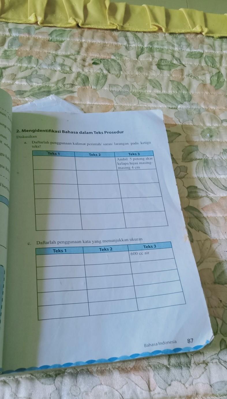 Daftarlah Penggunaan Kalimat Perintah Atau Saran Atau Larangan Pada Ketiga Teks : daftarlah, penggunaan, kalimat, perintah, saran, larangan, ketiga, Tugas, 1.Daftarlah, Ketiga, Tujuan, Komunikasi.hal.862., Daftarlah, Penggunaan, Brainly.co.id