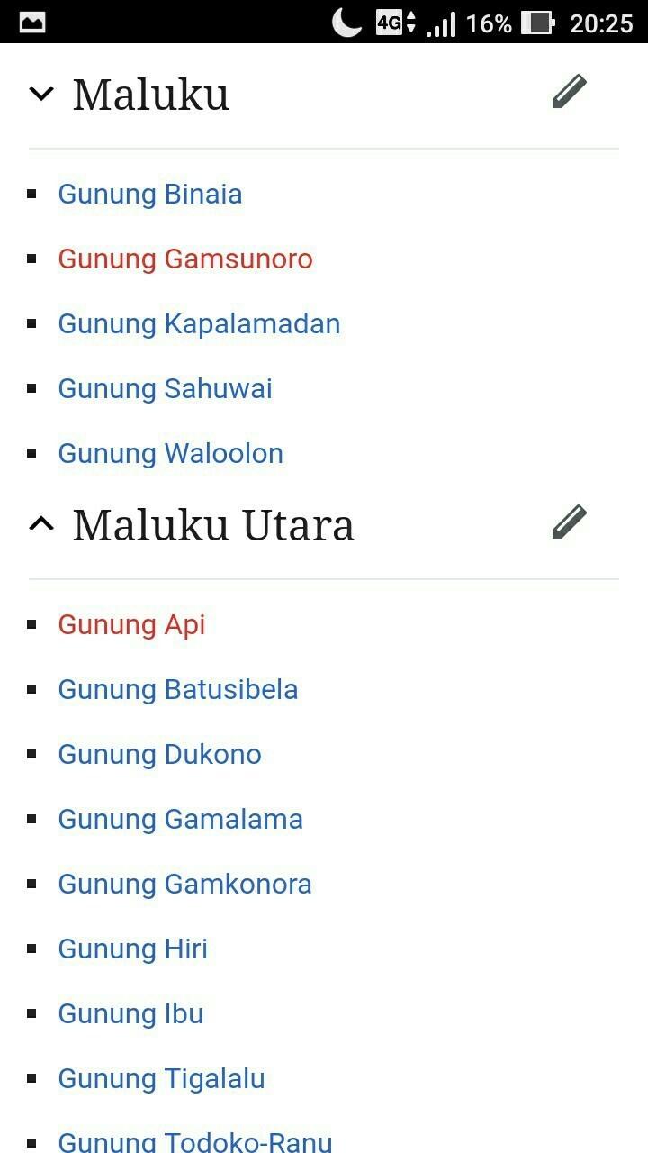 Nama Nama Gunung Di Pulau Papua Dan Maluku : gunung, pulau, papua, maluku, Gunung, Pulau, Papua, Maluku, Brainly.co.id