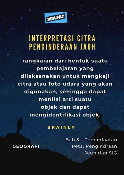 Interpretasi Citra Dan Contohnya : interpretasi, citra, contohnya, Jelaskan, Langkah-langkah, Interpretasi, Citra, Brainly.co.id
