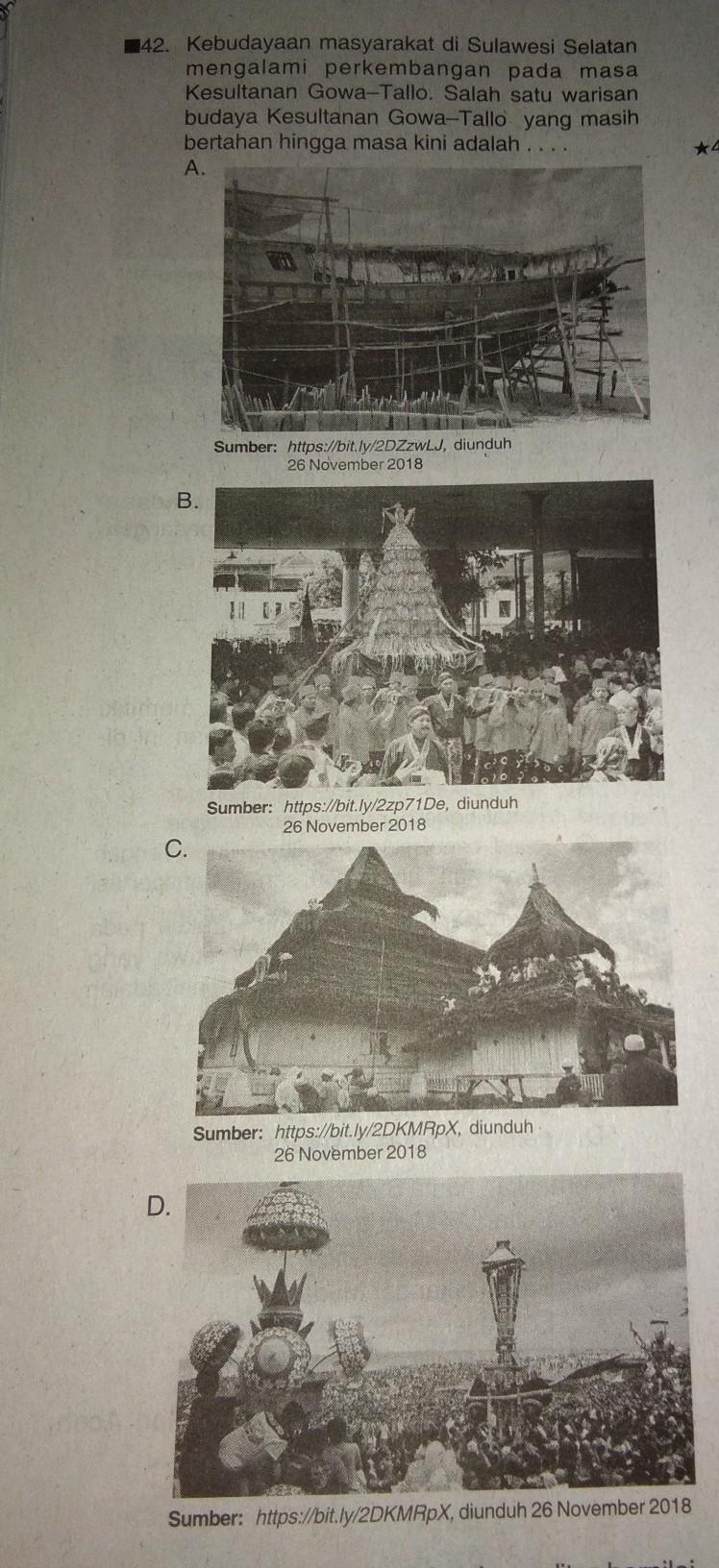 Kesultanan Gowa Tallo : kesultanan, tallo, Tolong, Bantu, Kak..cuma, Brainly.co.id