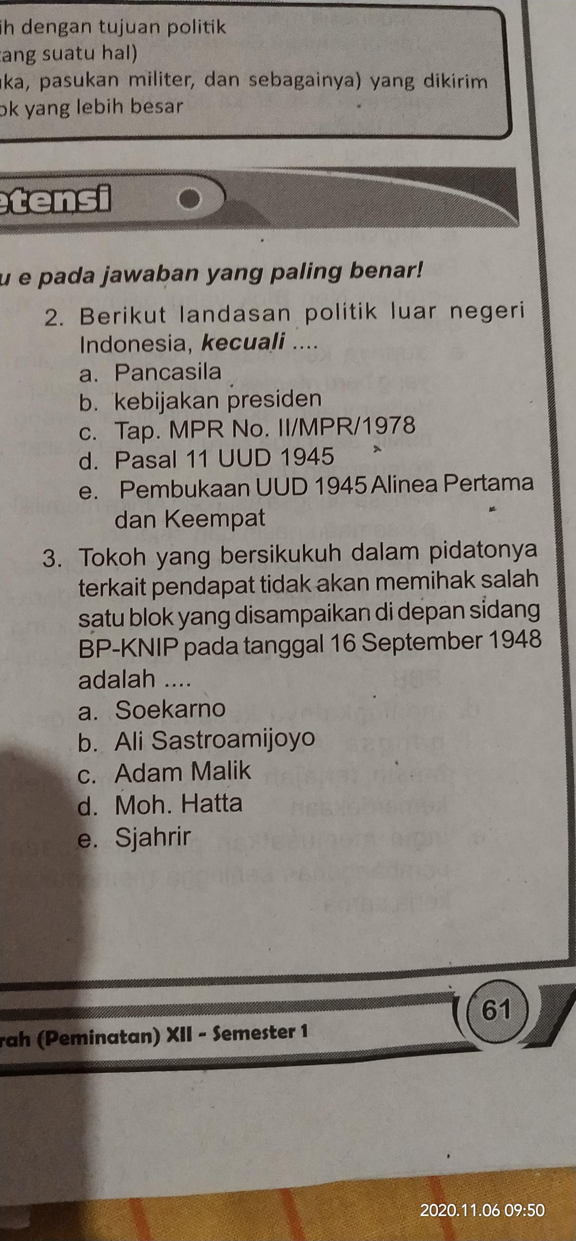 Landasan Politik Luar Negeri Indonesia : landasan, politik, negeri, indonesia, Berikut, Landasan, Politik, Negeri, Indonesia,, Kecuali, Brainly.co.id