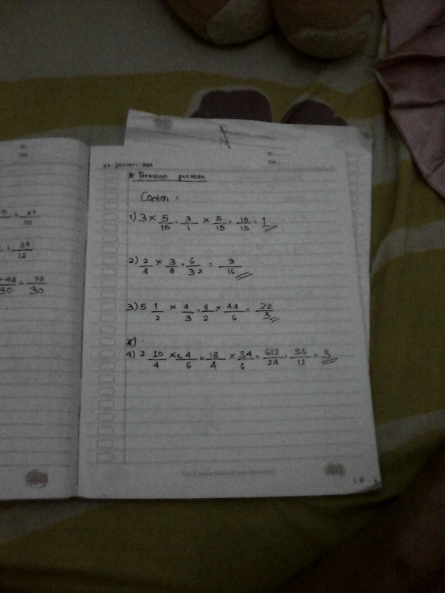 Cara Mengerjakan Soal : mengerjakan, Bagaimana, Mengerjakan, Matematika, Pecahan, Brainly.co.id