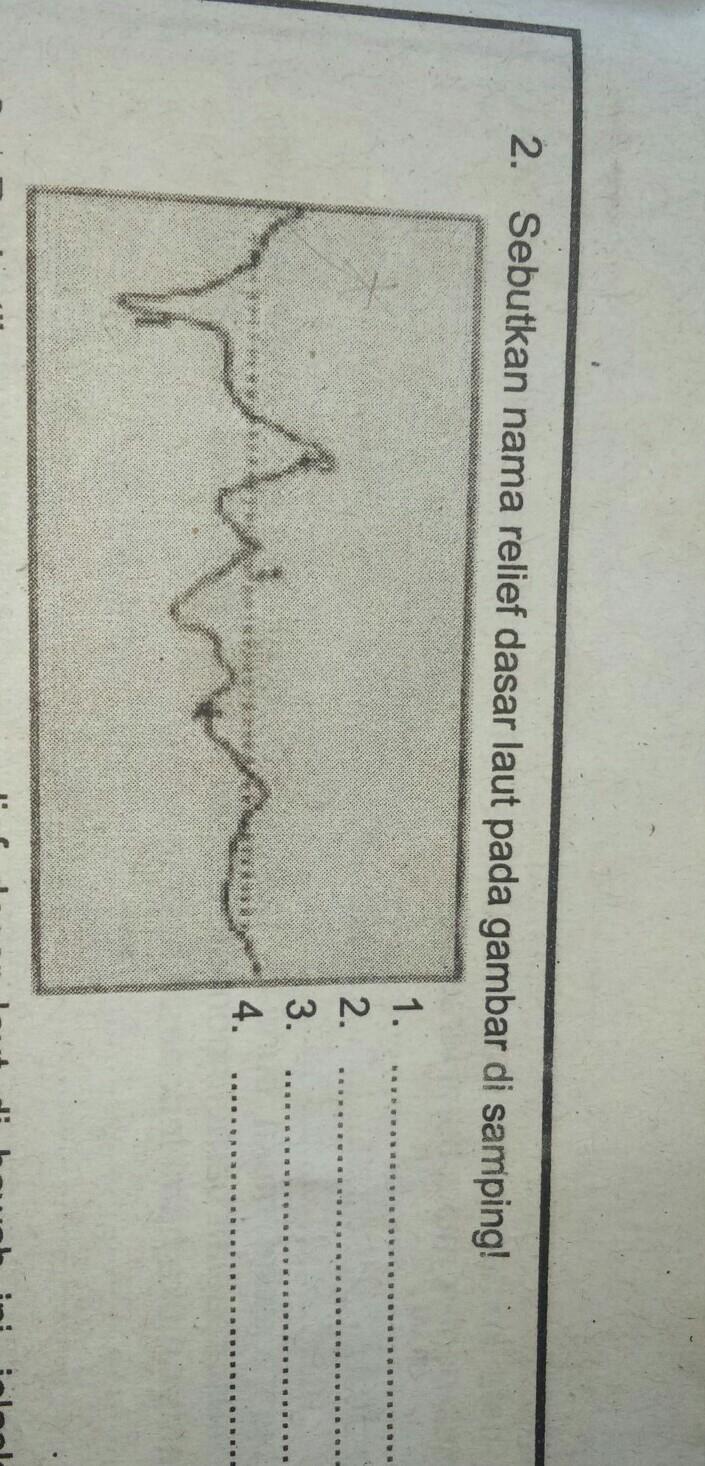 Relief Dasar Laut Adalah : relief, dasar, adalah, Sebutkan, Relief, Dasar, Gambar, Samping!, Brainly.co.id