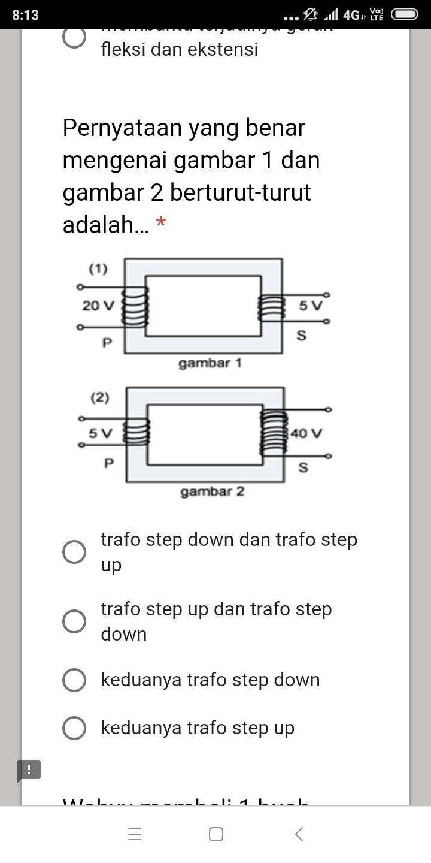 Pernyataan Tentang Trafo : pernyataan, tentang, trafo, Pernyataan, Benar, Mengenai, Gambar, Berturut-turut, Adalah, Brainly.co.id