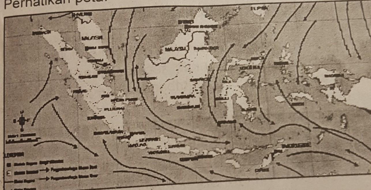 Perhatikan peta pergerakan angin di indonesia berikut in… read more kumpulan 9 gambar peta indonesia musim kemarau terupdate. Dari Peta Di Atas Menunjukkan Wilayah Indonesia Sedang Mengalami Musim A Penghujanb Kemarauc Brainly Co Id
