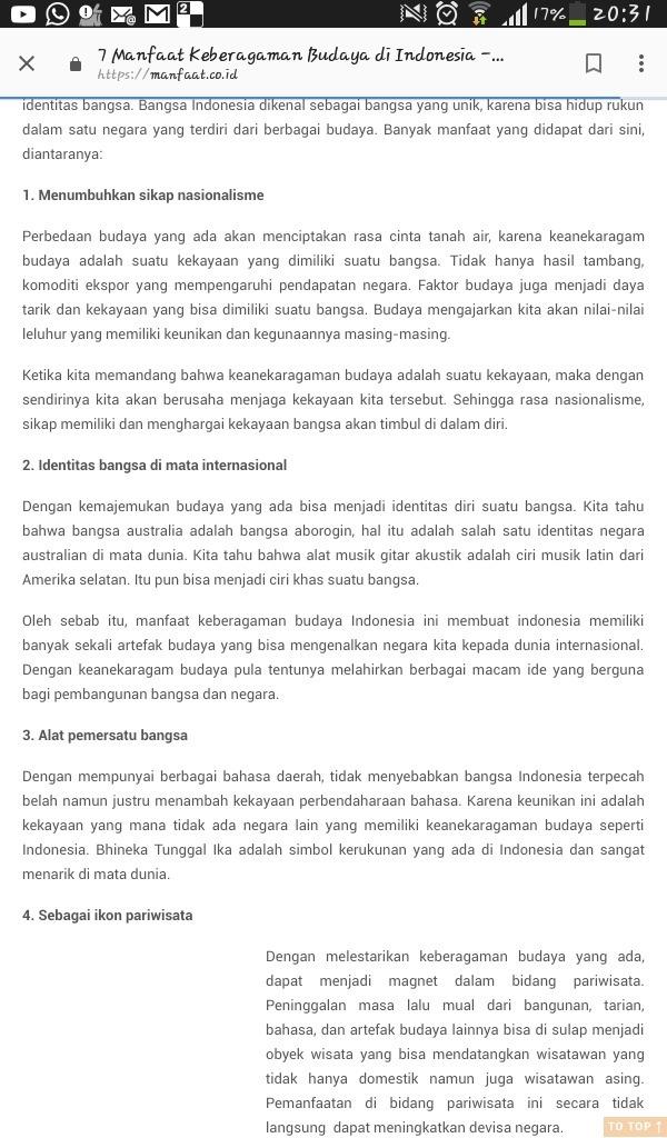 Manfaat Keragaman Budaya : manfaat, keragaman, budaya, Manfaat, Keberagaman, Dalam, Masyarakat, Indonesia, Brainly.co.id