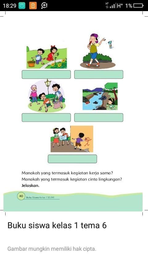 Kerja Sama Di Lingkungan Sekolah : kerja, lingkungan, sekolah, Manakah, Termasuk, Kegiatan, Kerja, Teemasuk, Cinta, Lingkungan, Jelaskan, Brainly.co.id