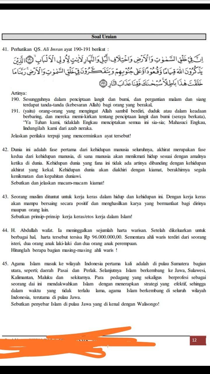 SOAL USBN PAI SMA-SMK K-13 PAKET 2.pdf - Scribd