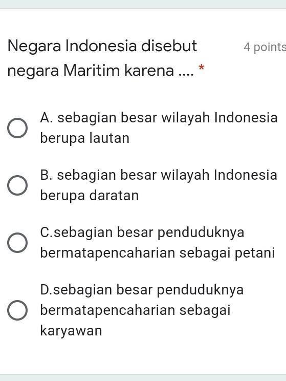Mengapa Indonesia Disebut Negara Maritim : mengapa, indonesia, disebut, negara, maritim, Negara, Indonesia, Disebut, Maritim, Karena...*, Brainly.co.id
