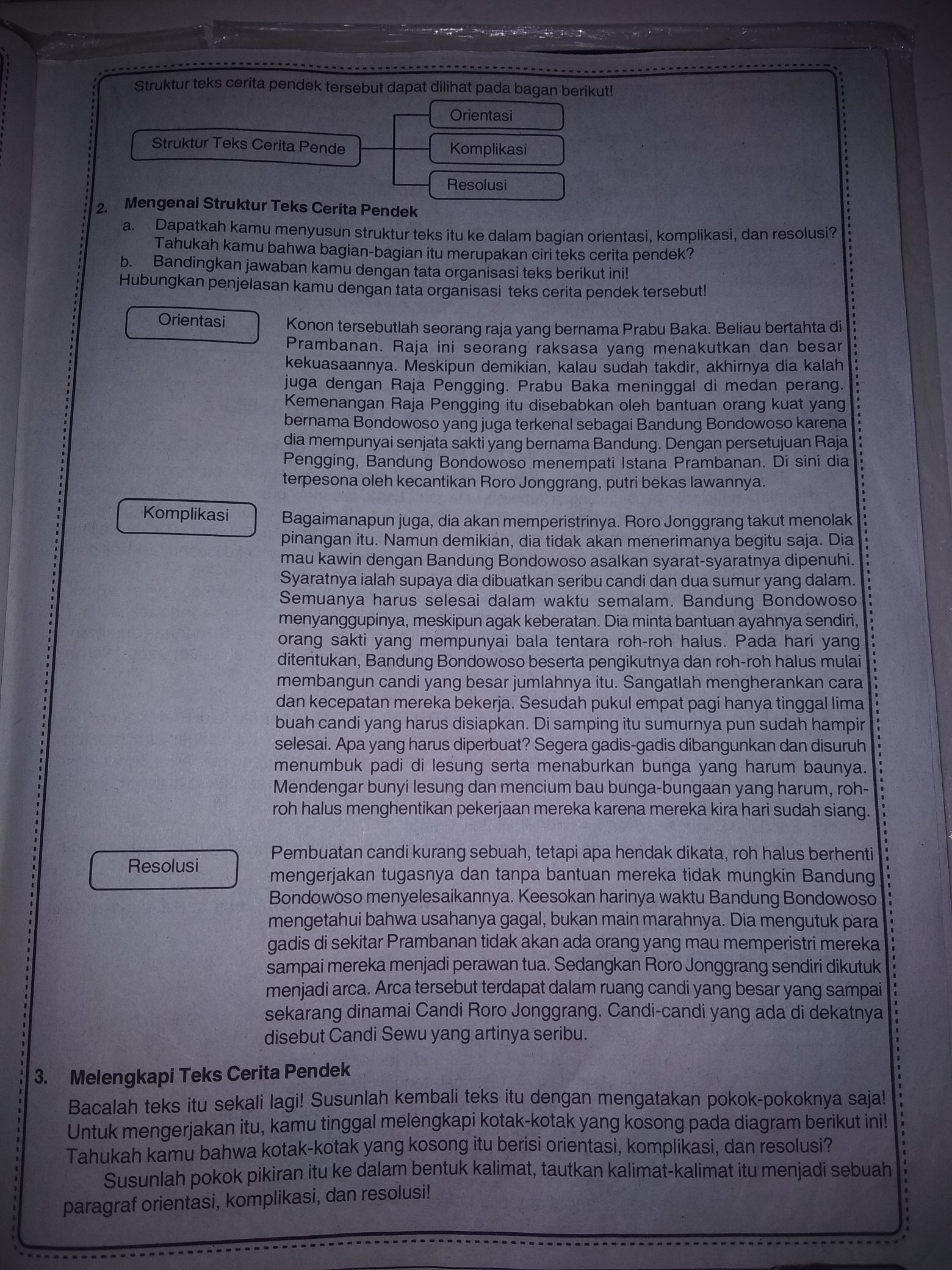 Struktur Teks Cerpen : struktur, cerpen, Contoh, Cerpen, Beserta, Strukturnya, Brainly.co.id