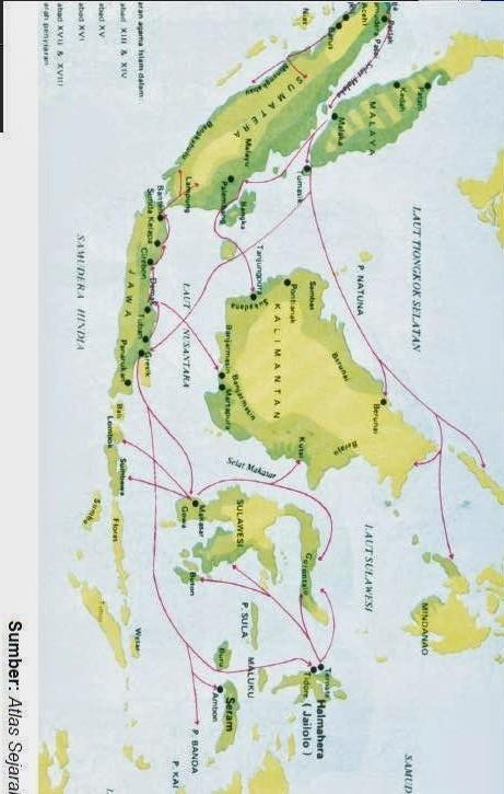 Peta Persebaran Nenek Moyang Di Indonesia : persebaran, nenek, moyang, indonesia, Indonesia:, Gambar, Persebaran, Nenek, Moyang, Indonesia
