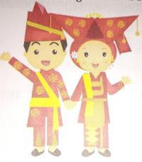 Gambar Pakaian Adat Sulawesi Utara Kartun