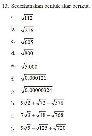 jawaban lk 2 prakarya kelas 9 semester 1 halaman 12 brainly co id. Matematika Semester 1 Kelas 9 Hal 49 Latihan 1 4 Nomor 13 Beserta Cara Dan Jawabannya Brainly Co Id