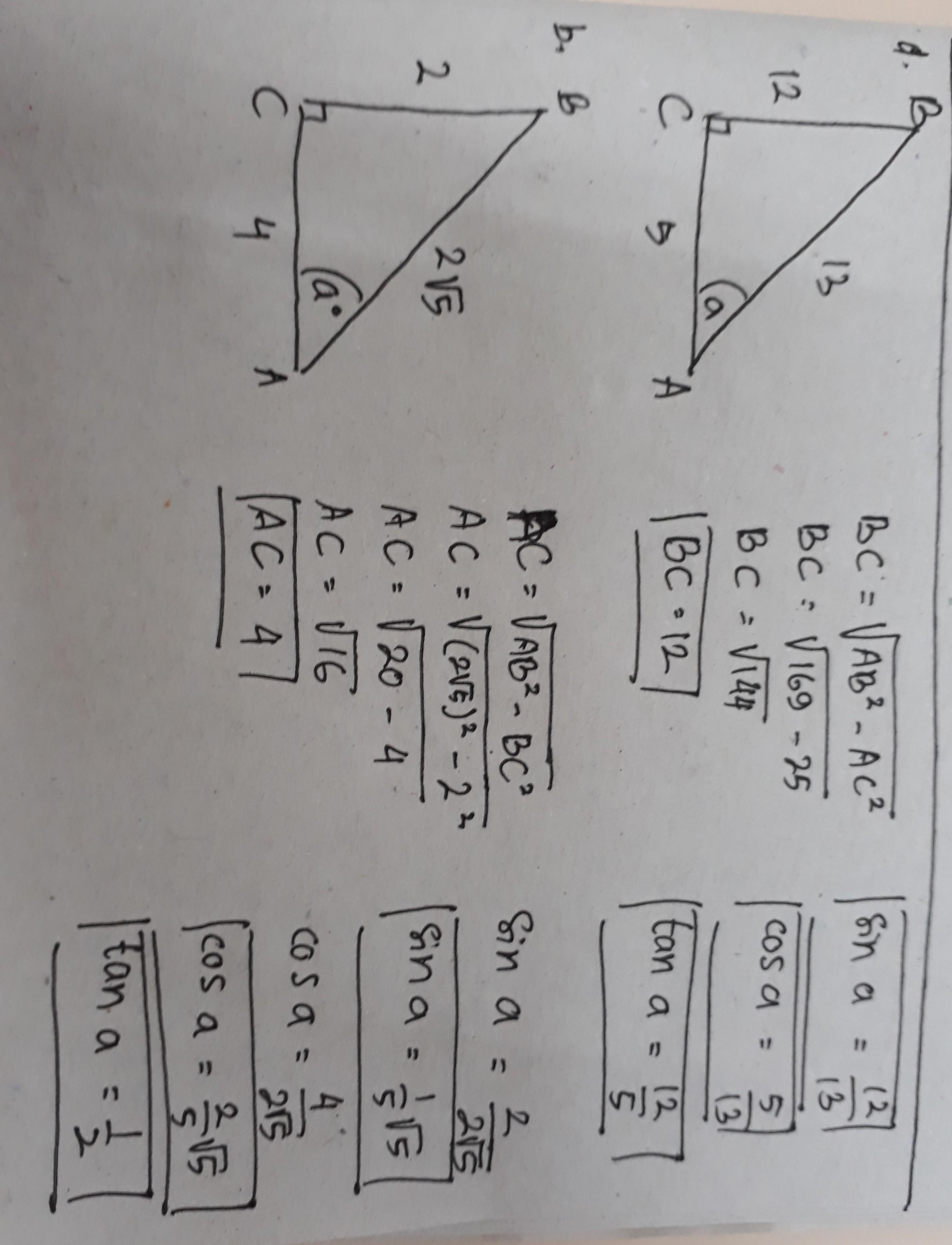 Contoh Soal Perbandingan Trigonometri Pada Segitiga Siku-siku : contoh, perbandingan, trigonometri, segitiga, siku-siku, Segitiga, Siku-siku, Menyatakan, Besar, Sudut, Carilah, Perbandingan, Trigonometri, Brainly.co.id