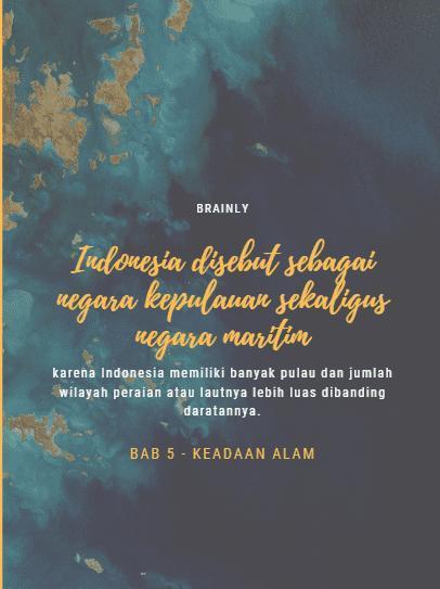 Mengapa Indonesia Disebut Negara Maritim : mengapa, indonesia, disebut, negara, maritim, Mengapa, Indonesia, Disebut, Sebagai, Negara, Kepulauan, Sekaligus, Maritim, Brainly.co.id