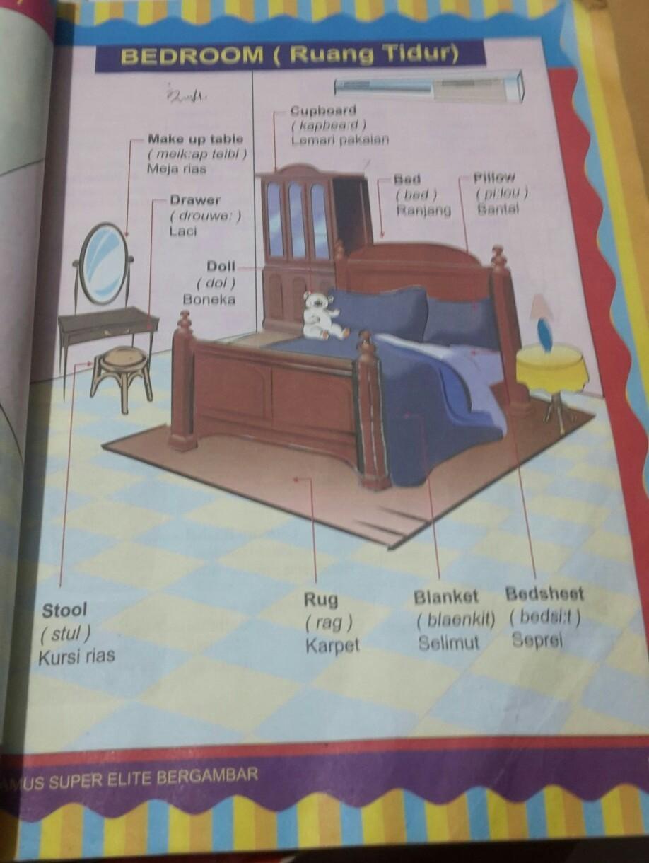 Meja Rias Bahasa Inggris : bahasa, inggris, Bahasa, Inggrisnya