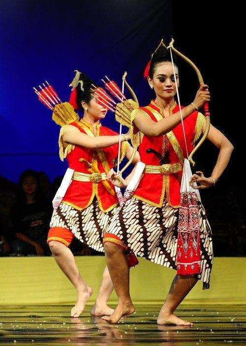 Sebutkan Beberapa Tarian Dari Jawa Tengah : sebutkan, beberapa, tarian, tengah, Propertinya, Panah, Busur, Brainly.co.id