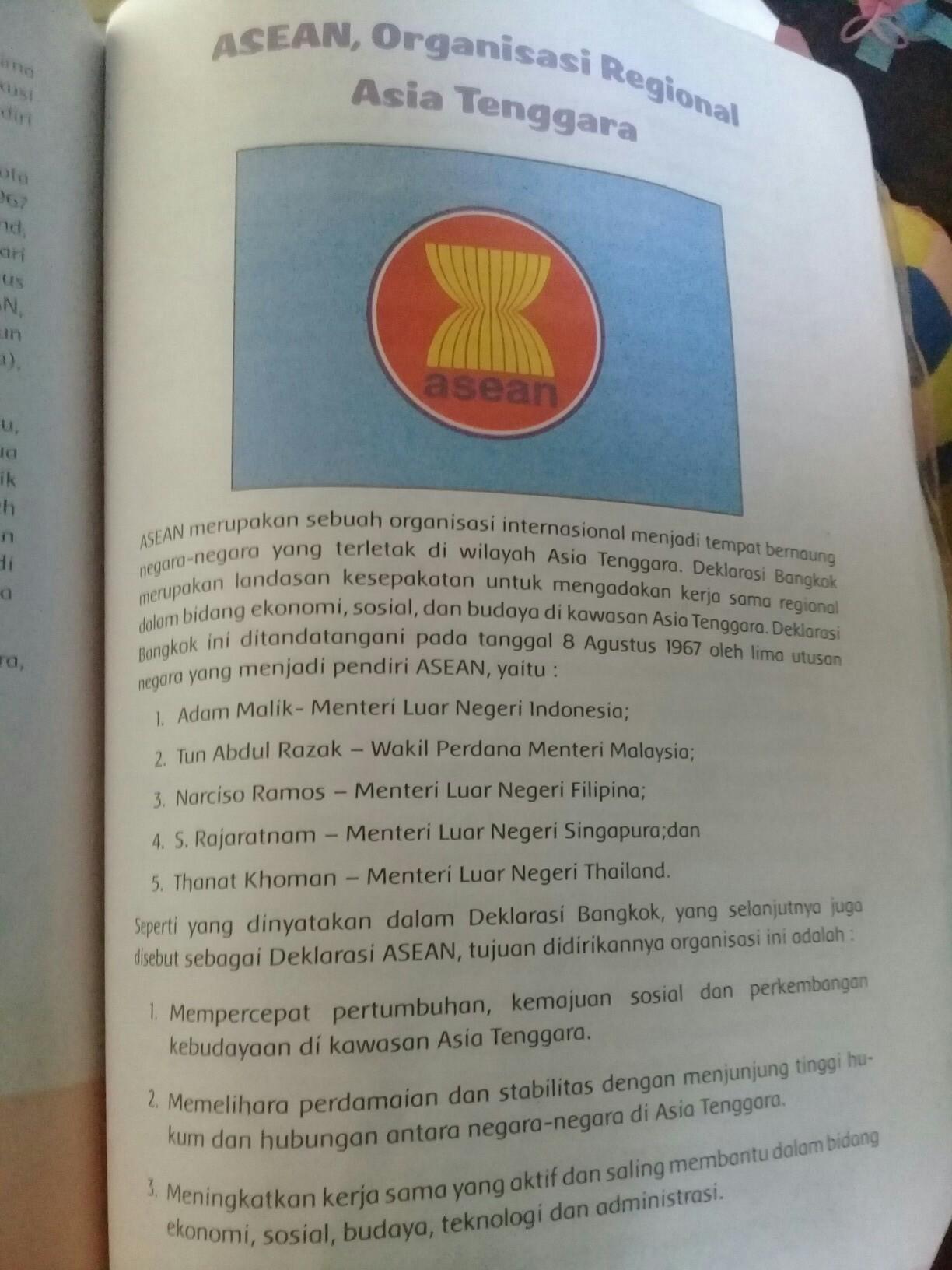 Asean Dibentuk Berdasarkan : asean, dibentuk, berdasarkan, Kapan, Asean, Didirikan?, Brainly.co.id