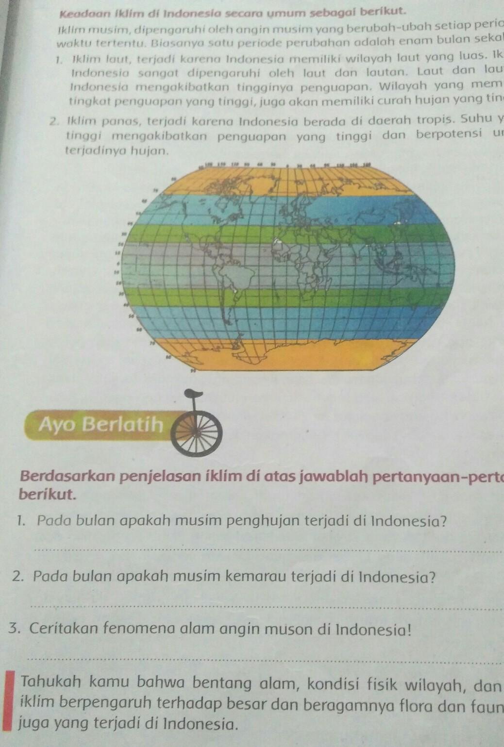 Pada Bulan Apakah Musim Penghujan Terjadi Di Indonesia : bulan, apakah, musim, penghujan, terjadi, indonesia, Jawab, Tugas, Kerjain, Pukul, 12.00, Plisssss, Jawabb, Lumayan, Brainly.co.id