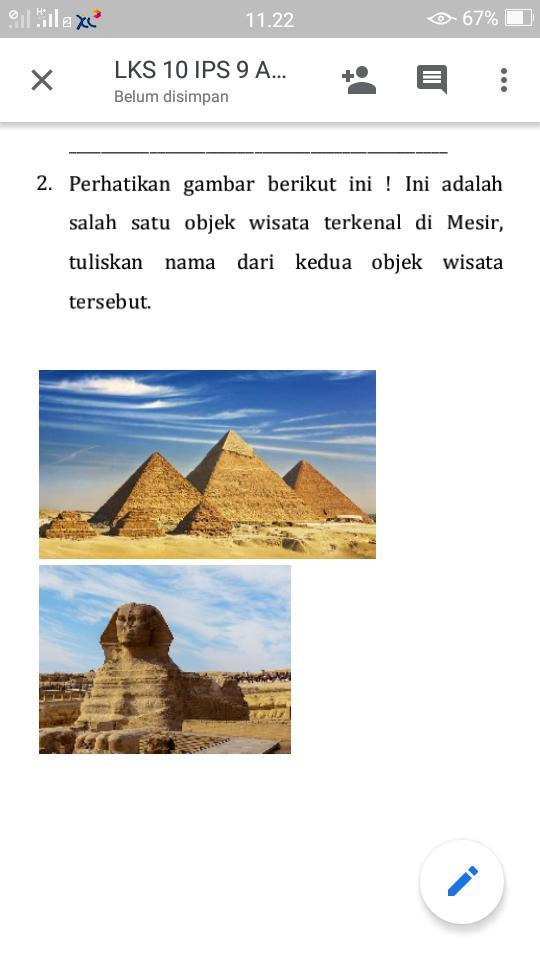 Yang Terkenal Di Mesir : terkenal, mesir, Tuliskan, Gambar, Mesir, Tolong, Jawab, Brainly.co.id