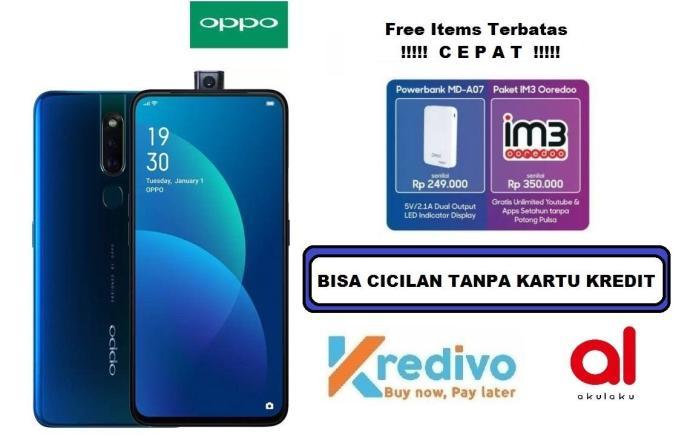Oppo F11 Pro Ram 6GB/64GB - Bisa Cicilan Tanpa Kartu Kredit + Free Assesories Original Oppo (Garansi Resmi, Bisa COD)