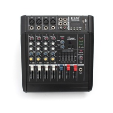 PMX402D-USB 4 Channel Studio Audio Mixing Mixer Console Built-in Sound Effects Black - intl