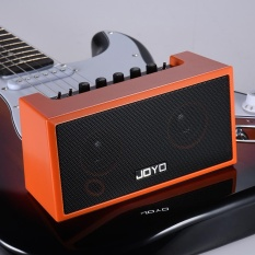 TOP-GT Mini Bluetooth 4.0 Gitar Amp-lifier Amp Pembicara 2*4 W With Built-In Rechargeable untuk IPhone IPad IOS Perangkat Gitar APP Smartphone MP3 ^-Intl