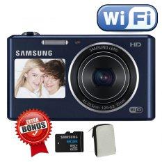 Samsung DV-150f - Wifi dan Dual LCD - Hitam + Memori 8 GB