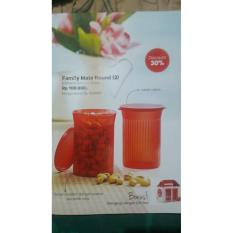 BEST PROMO FAMILY MATE ROUND (1) TUPPERWARE TOPLES BULAT