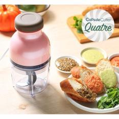 Hand Blender Capsule Cutter Quatre - Blender Capsul Press Serbaguna Multifungsi - Babamu