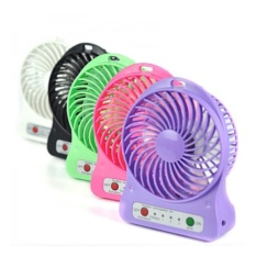 Mini Fan Rechargeable: Kipas Angin Pendingin Recharge Cas Kecil