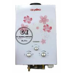 Niko Water Heater Gas Instan / Pemanas Air Gas NK 6L
