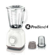 Philips Glass Blender / Blender Kaca HR2106 White Putih