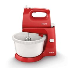 Philips Hand Mixer / Pengaduk HR1559/10 Red Merah