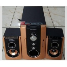 PROMOO...Polytron Multimedia Audio PMA9300 Bluetooth - Active Subwoofer - Speaker Aktif 2.1 Channel - MP3 Player - USB MMC - SD Card