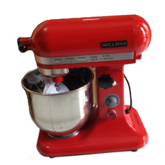 Willman Heavy Duty Mixer - Pengaduk Adonan Roti BH7B 7 Liter - with Cover