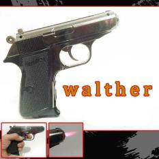 Korek Api Matches Pistol WALTHER 508 Leather Machine Full Besi
