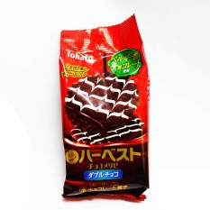 Tohato Harvest Chocolate Menurize double chocolate crakers
