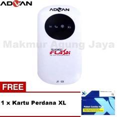 Advance/ Advan JETZ JR-108 Modem  7,2mbps Wifi Portable Support All GSM + Free Kartu Perdana XL