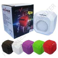 Advance ES010N Speaker Mini Bluetooth Portable Support Handsfree - Putih