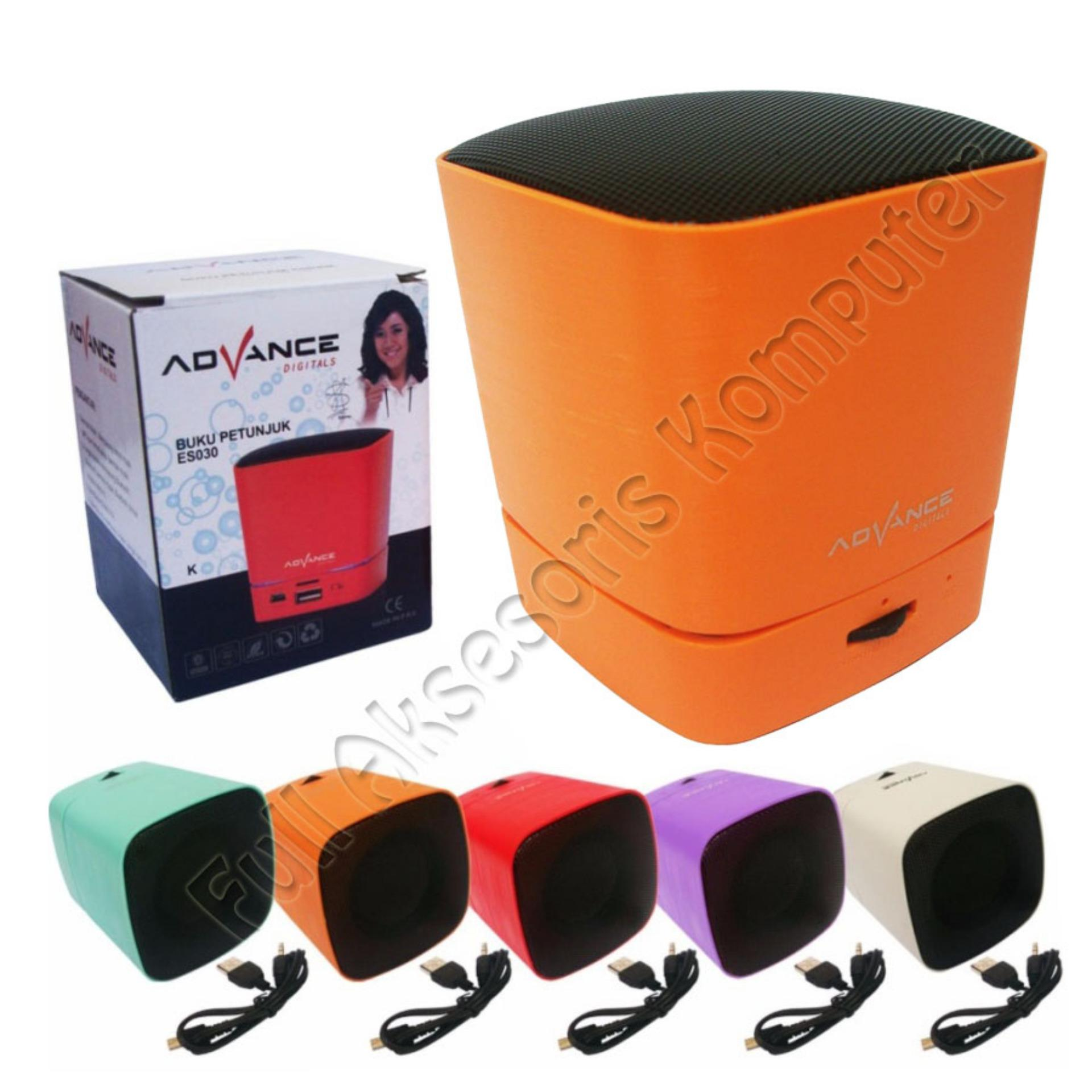 Advance Mini Speaker Portable Bluetooth ES030K - Orange