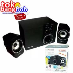 Advance Speaker Bluetooth Active Subwoofer System M180 BT Black