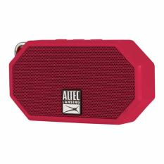 Altec Lansing IMW258 Mini H2O 3 Portable Waterproof (IP67) Speaker (merah ) - Original Garansi Resmi 1 Tahun