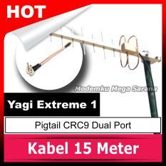 Antena Yagi Extreme 1 Pigtail CRC9 Dual Port
